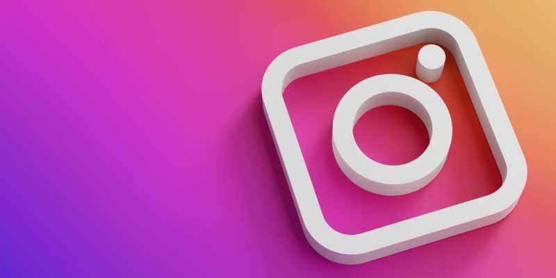 Instagram запустил Live Rooms, альтернативу умершему Clubhouse (instagram logo minimal simple design template copy space 3d1 1608114949871)
