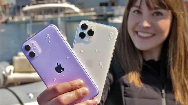 iPhone 11 Pro пролежал на дне замёрзшего озера 30 дней и остался работоспособным (iphone 11 water)