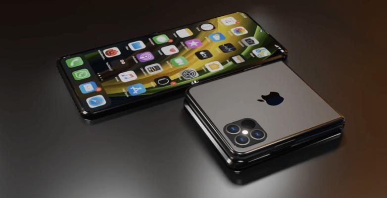 Кто-то сейчас делает складной iPhone, но не Apple (iphone 12 flip)