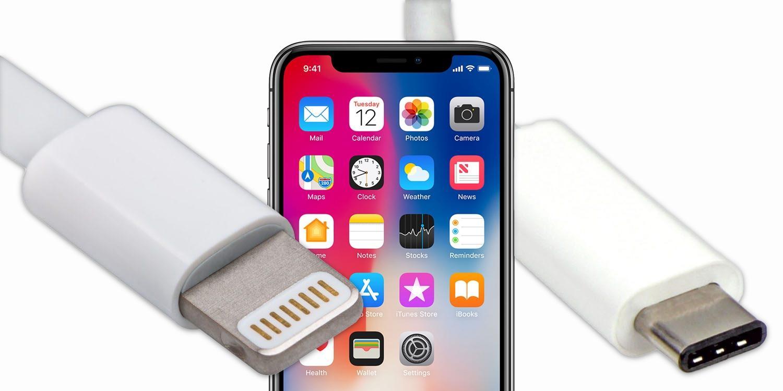 Apple откажется от разъёма Lightning в iPhone, но не в пользу USB-C (iphone x usb c)