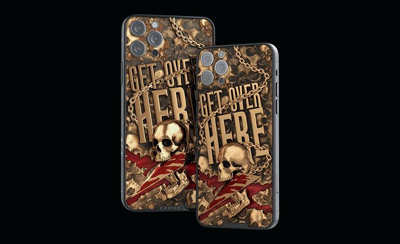 Для фанатов Mortal Kombat в России выпустили особенные iPhone 12 Pro (iphone12 mk scorpio 11 large)