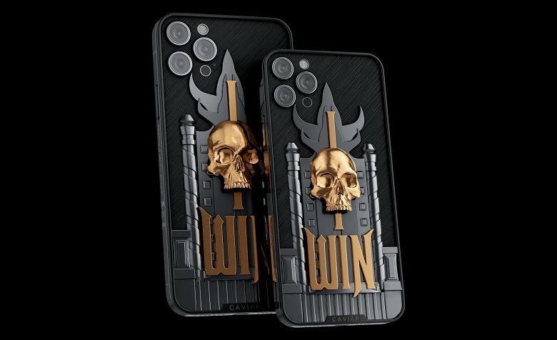 Для фанатов Mortal Kombat в России выпустили особенные iPhone 12 Pro (iphone12mk shao kahn 12 large)