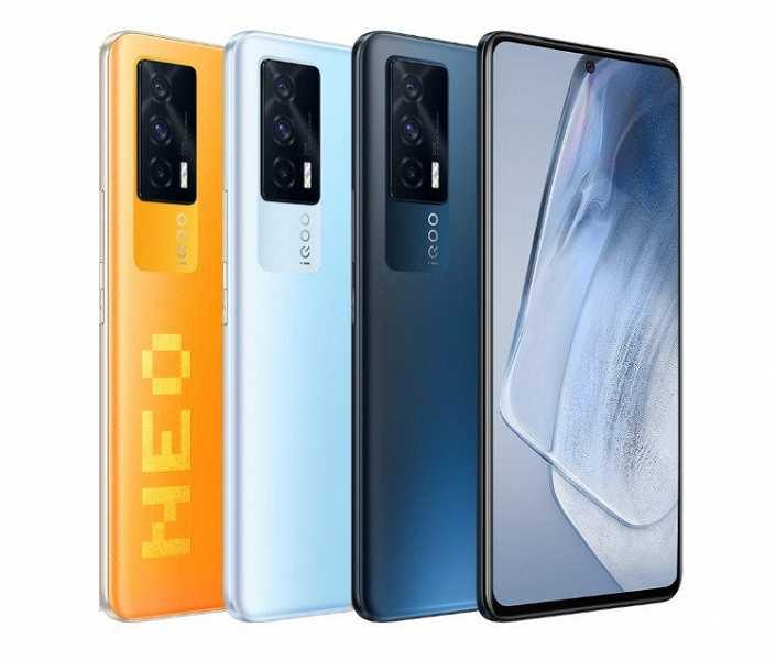 Представлен смартфон iQOO Neo 5