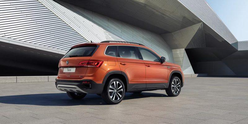 Volkswagen рассказала о новом внедорожнике Taos (jcz)