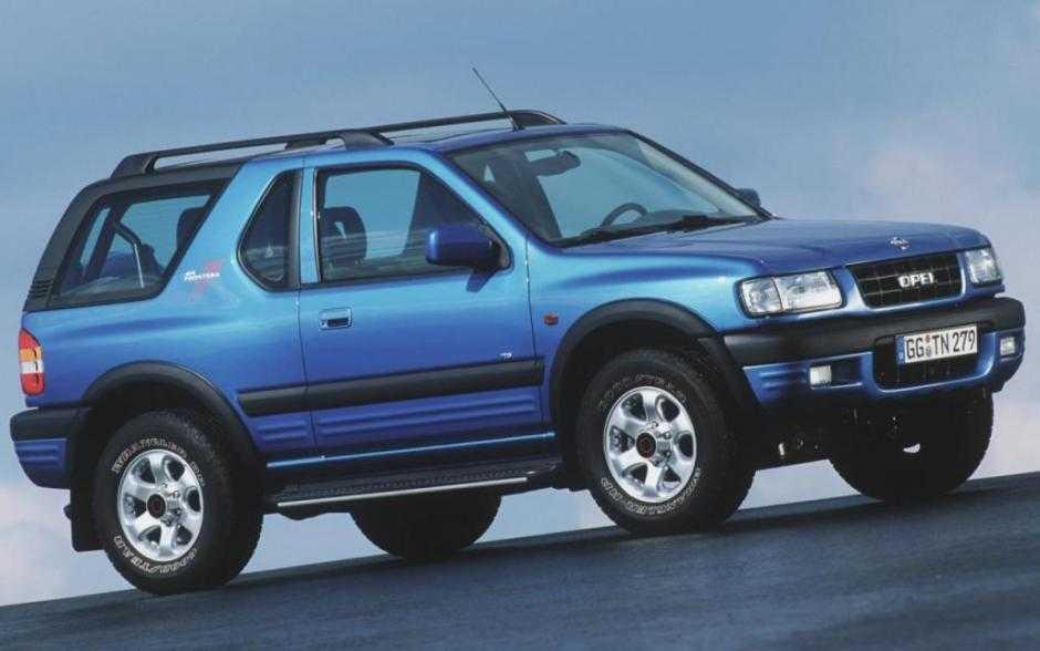 Легендарной Opel Frontera исполнилось 30 лет (opel frontera 63202 5573327)