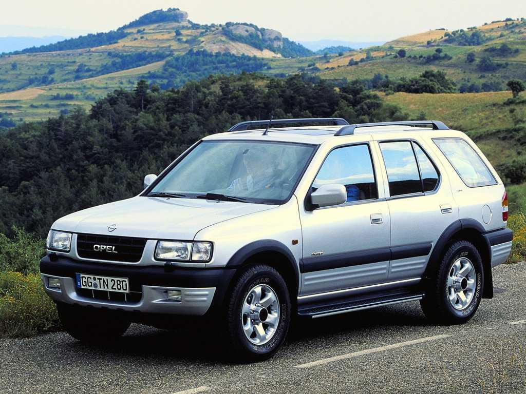 Легендарной Opel Frontera исполнилось 30 лет (opel frontera 143384)