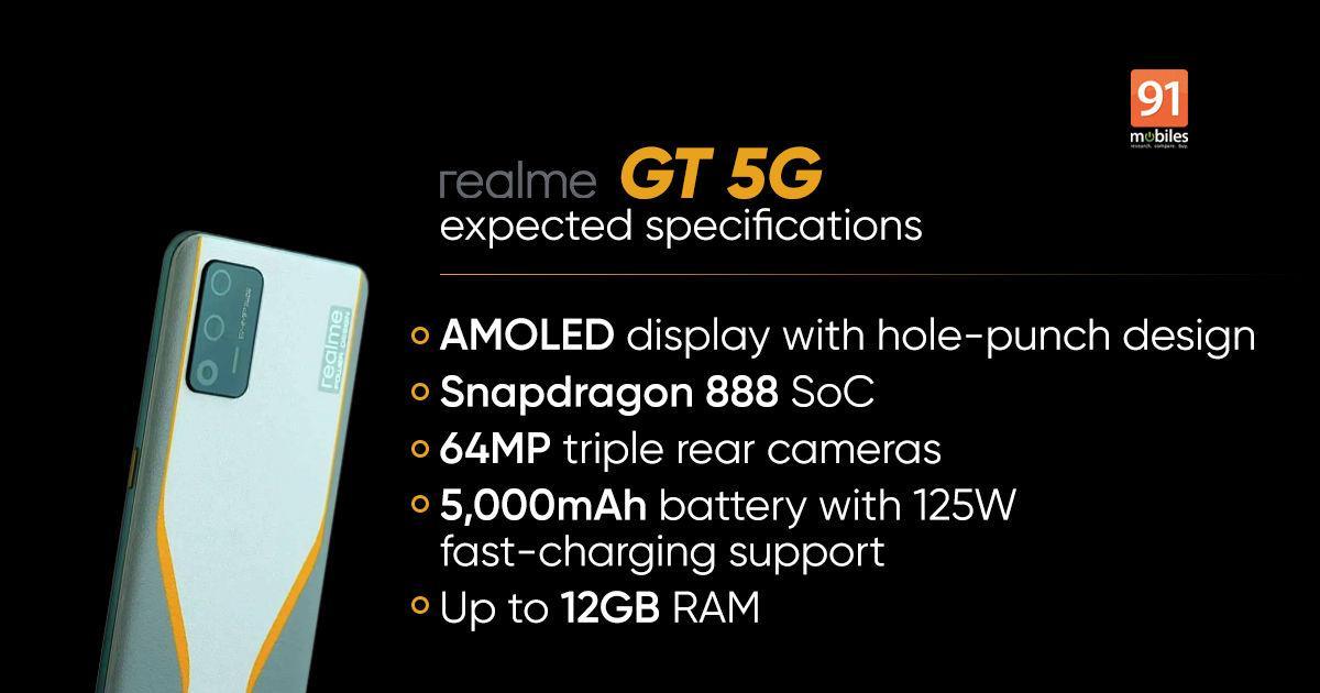 Realme выпустила флагман realme GT