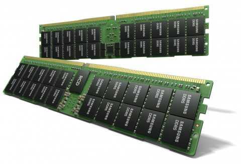 Модуль DDR5 на 512 ГБ от Samsung ()