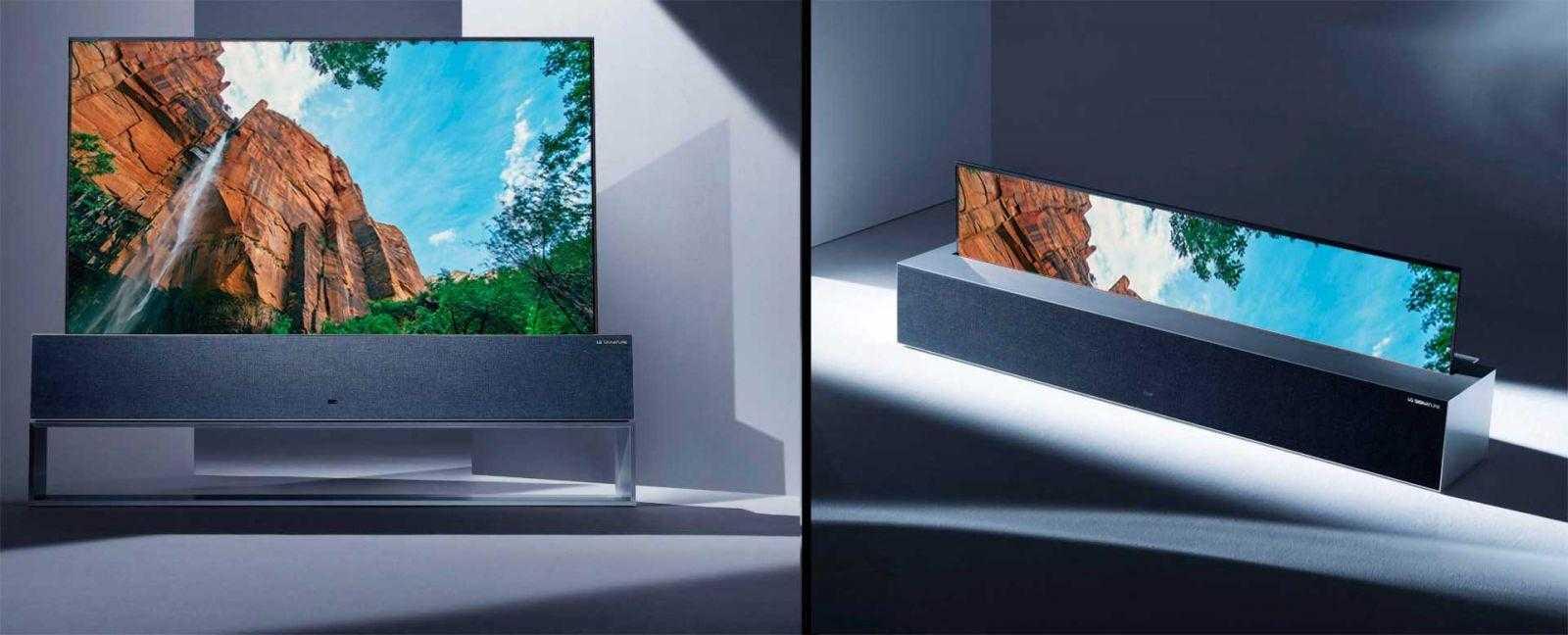 Cворачивающийся телевизор LG скоро появится в России