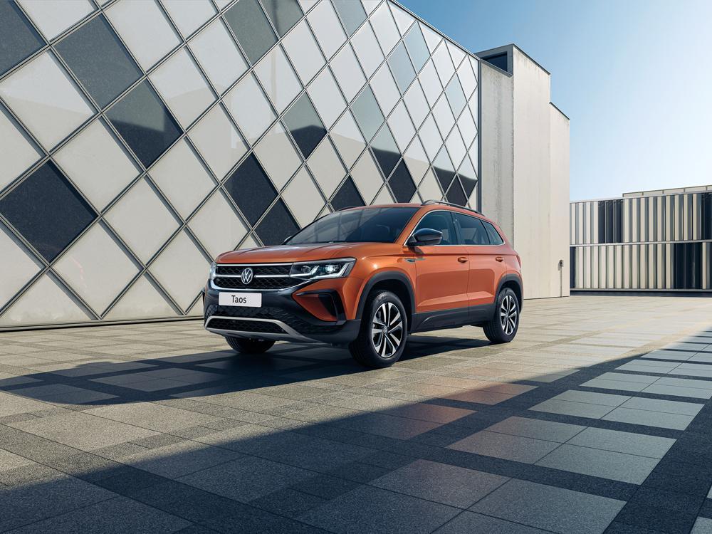 Volkswagen рассказала о новом внедорожнике Taos (volkswagen taos 1)