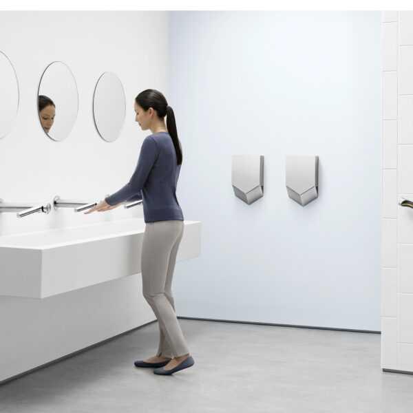 Dyson подтвердил, что сушилки Dyson Airblade делают офис безопаснее (washroom)