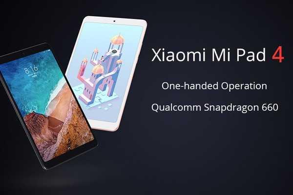 Xiaomi Mi Pad 5 получит 11-дюймовый дисплей с высокой частотой обновления (xiaomi mi pad 4 akcio a tomtop webaruhazban)