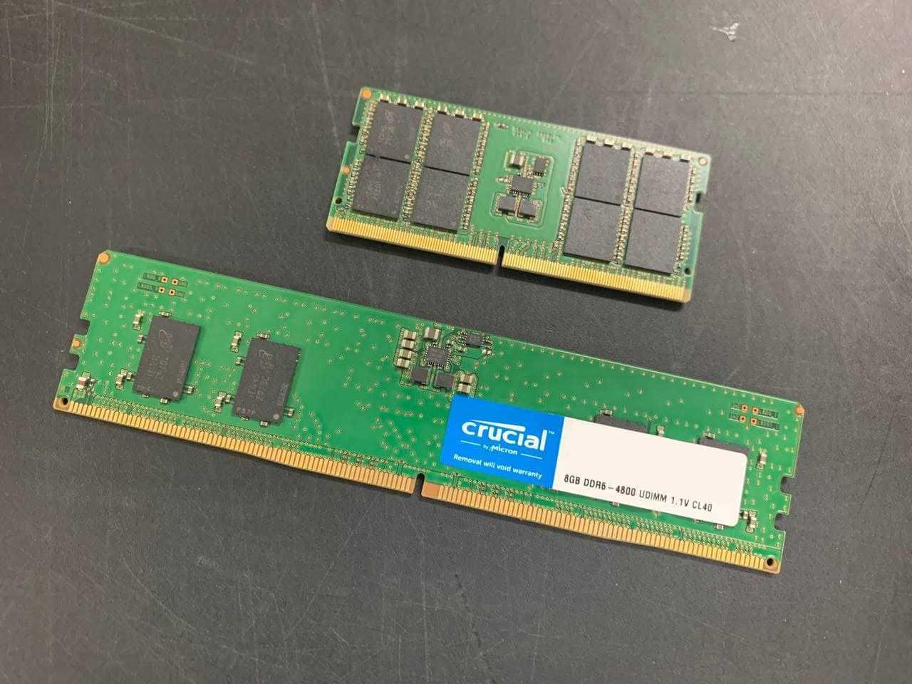 Компания Crucial представила модули памяти DDR5 для ноутбуков и настольных компьютеров (11)