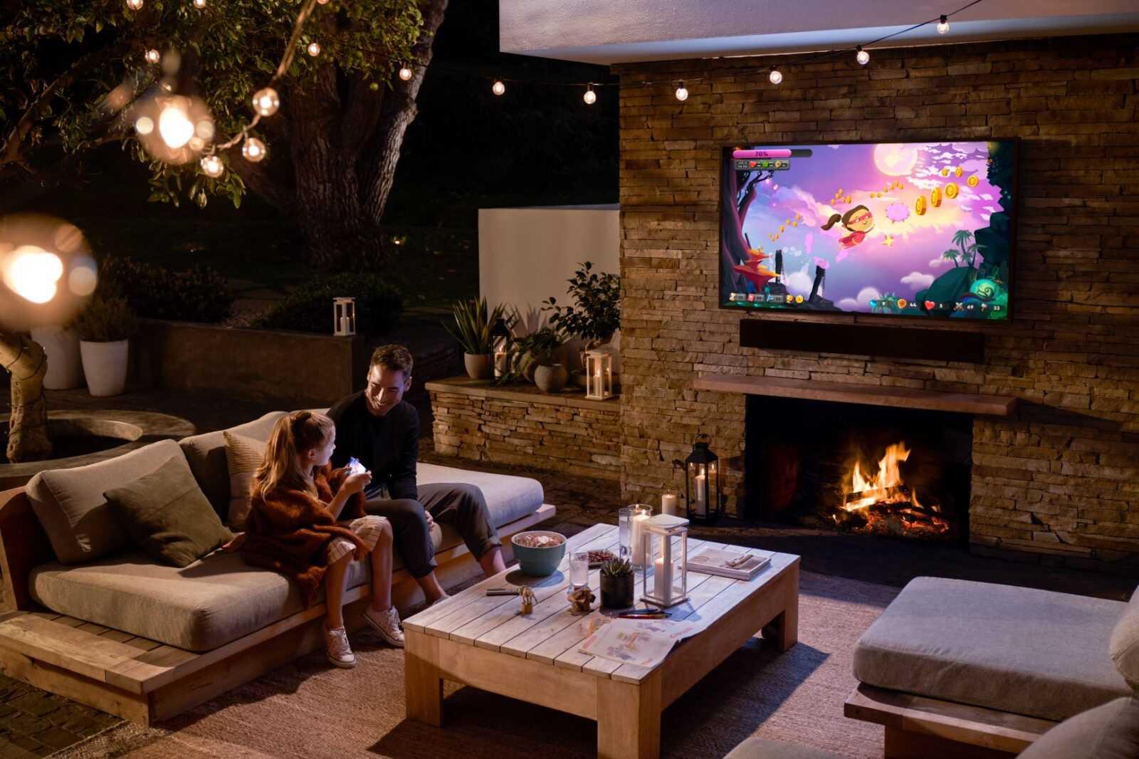 Компания Samsung представила новые телевизоры Neo QLED и Micro LED, и рассказала про технологии (2020 the terrace 8)
