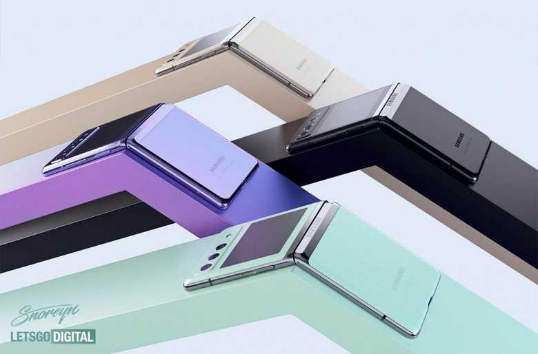 Samsung Galaxy Z Flip3 позирует на качественных рендерах (33)
