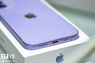 Фиолетовый iPhone 12 показали во всей красе (5)