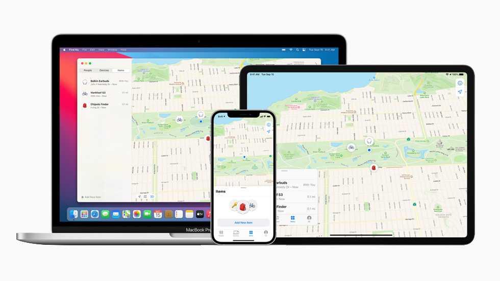 Локатор Apple теперь позволяет искать сторонние устройства
