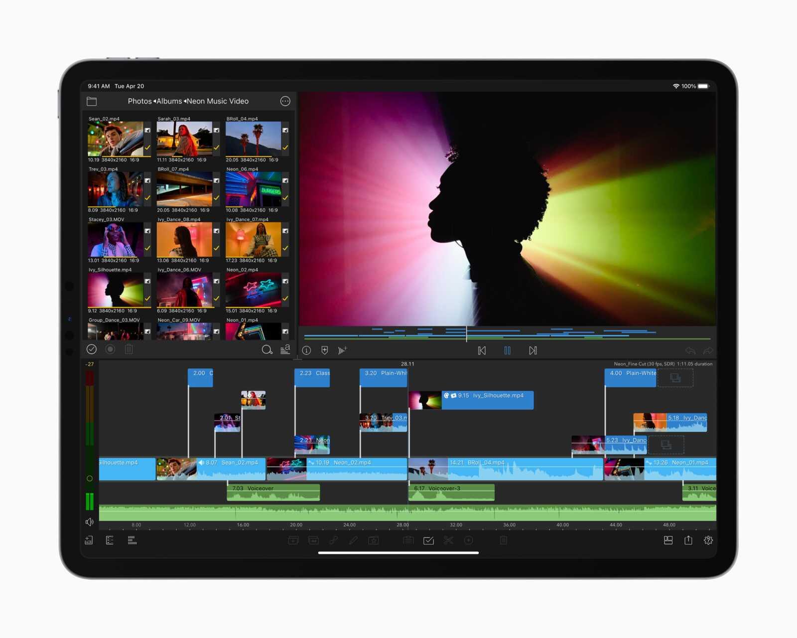 iMac, iPad Pro и Apple TV 4K появятся в магазинах в пятницу, 21 мая (apple ipad pro spring21 m1 luma fusion 04202021)