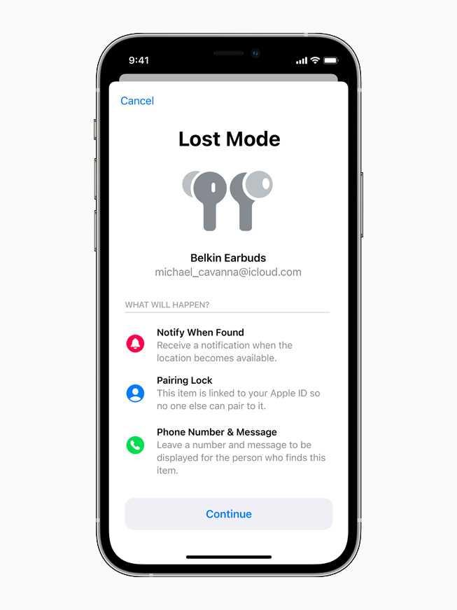 Локатор Apple теперь позволяет искать сторонние устройства (apple iphone12pro lostmode screen 040721 carousel.jpg.large)