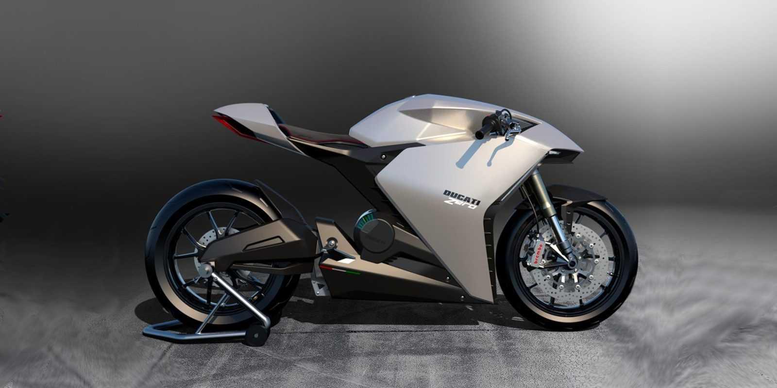 Ducati в ближайшее время не будет производить электрические мотоциклы (ducati zero 1)