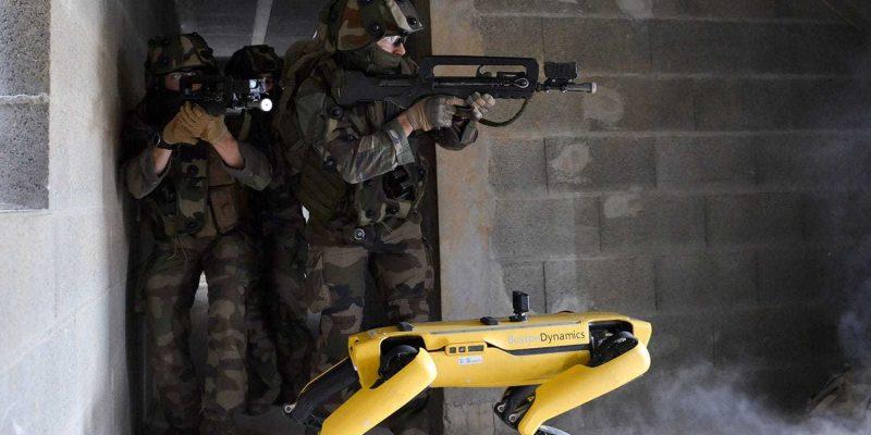 В Battlefield 6 могут появиться собаки-роботы (french army with spot)