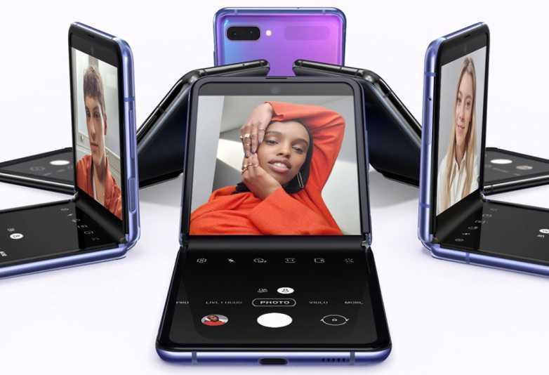 Samsung может работать над новым крутым складным телефоном (galaxy z flip)