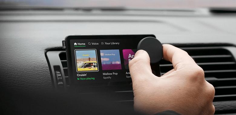 Spotify представила свой первый гаджет - автомобильный музыкальный плеер Car Thing (hero 1 3840 large 1)