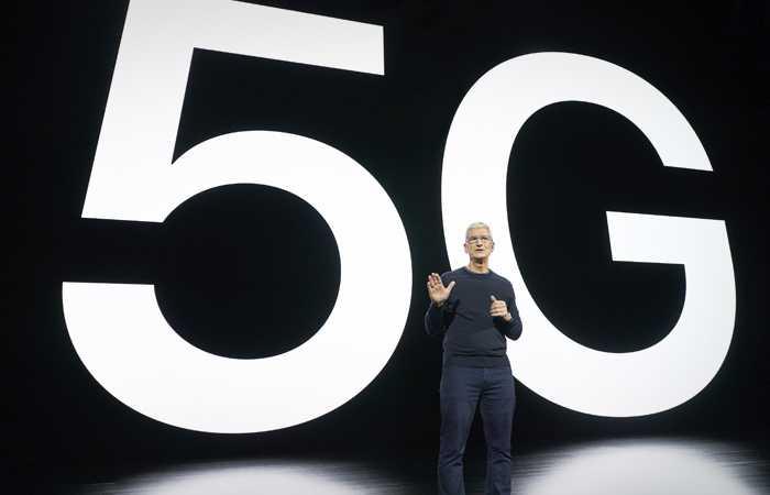 Продажи смартфонов 5G резко выросли, и Apple лидирует (i700)