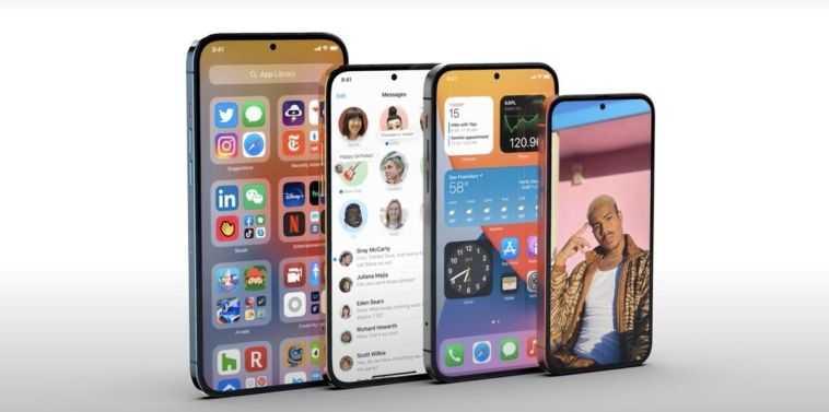 Через два года iPhone избавиться от выемки в дисплее (iphone 14 iphone se 3 i iphone 15 bez vyemki)