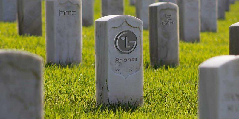 LG подтвердила, что закрывает мобильное направление (lg phone division shutdown feature image)