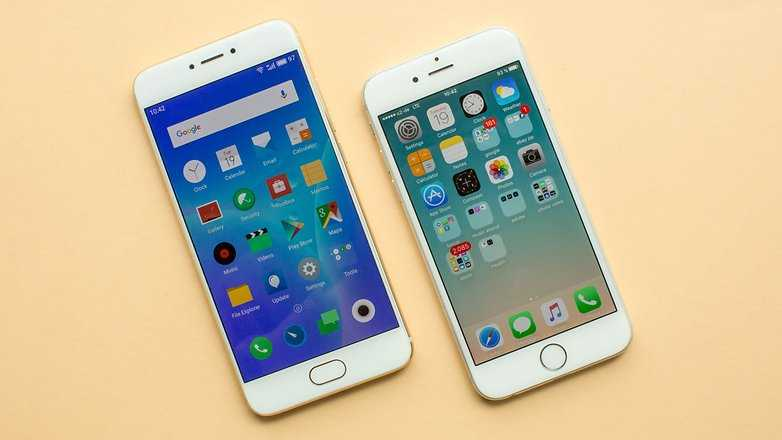 Пользователи iPhone массово переходят на Meizu (meizu pro 6 protiv iphone 6)
