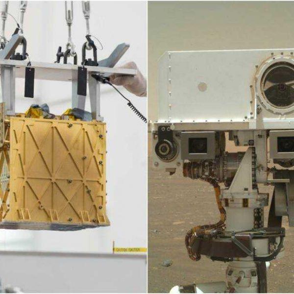 Марсоход Perseverance только что превратил CO2 в кислород: это поможет дышать космонавтам (nasa perseverance rover moxie device turns carbon dioxide into oxygen 2021 4)