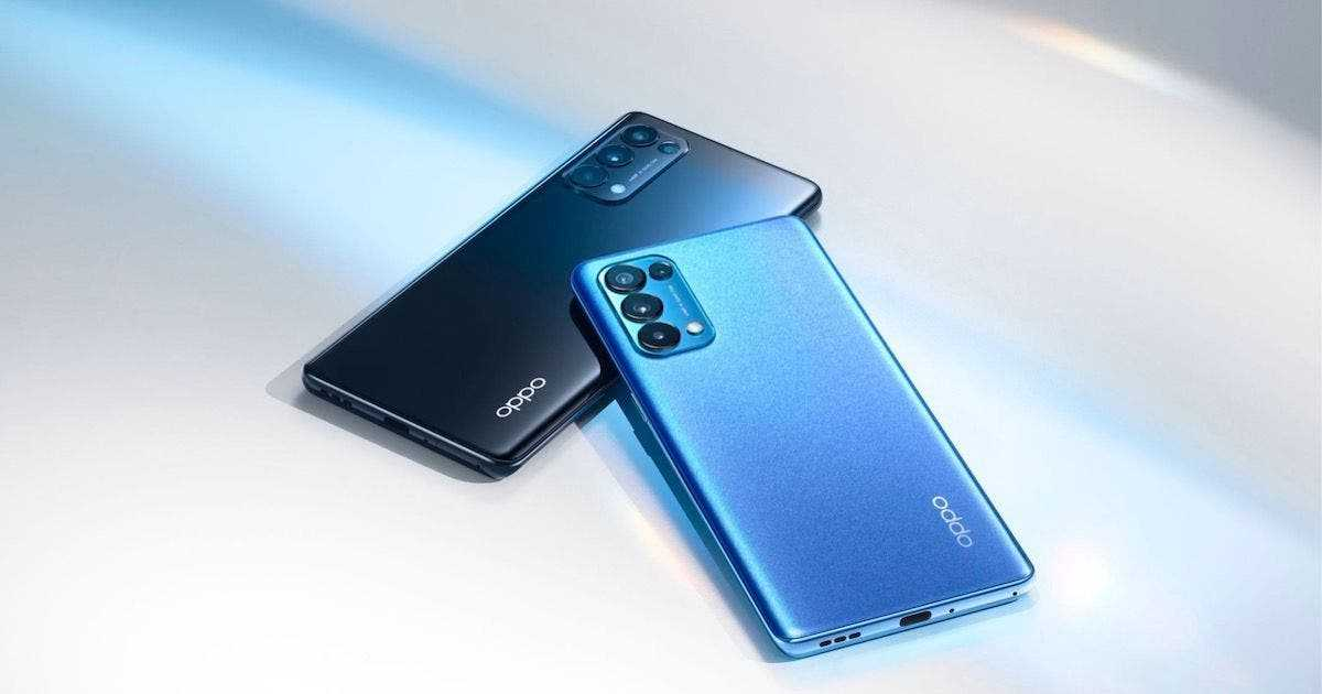 В сеть слили технические характеристики смартфона Oppo Reno 6 (oppo reno5 pro)