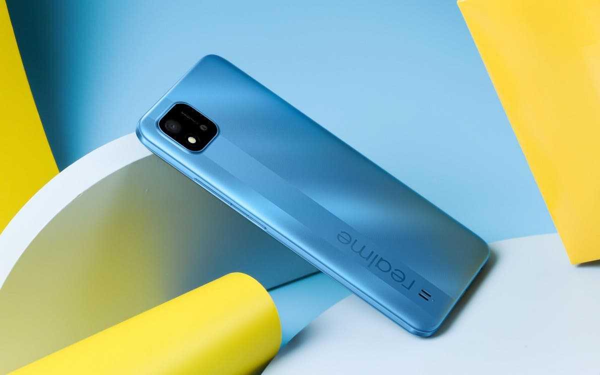 Realme готовит смартфон на основе Dimensity 1100 (realmec20)