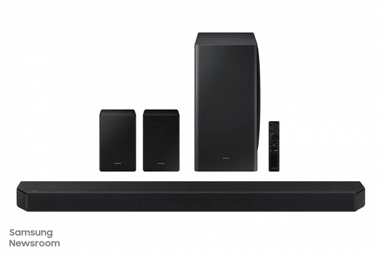 Samsung запустила в продажу свою первую 11.1.4канальную звуковую панель
