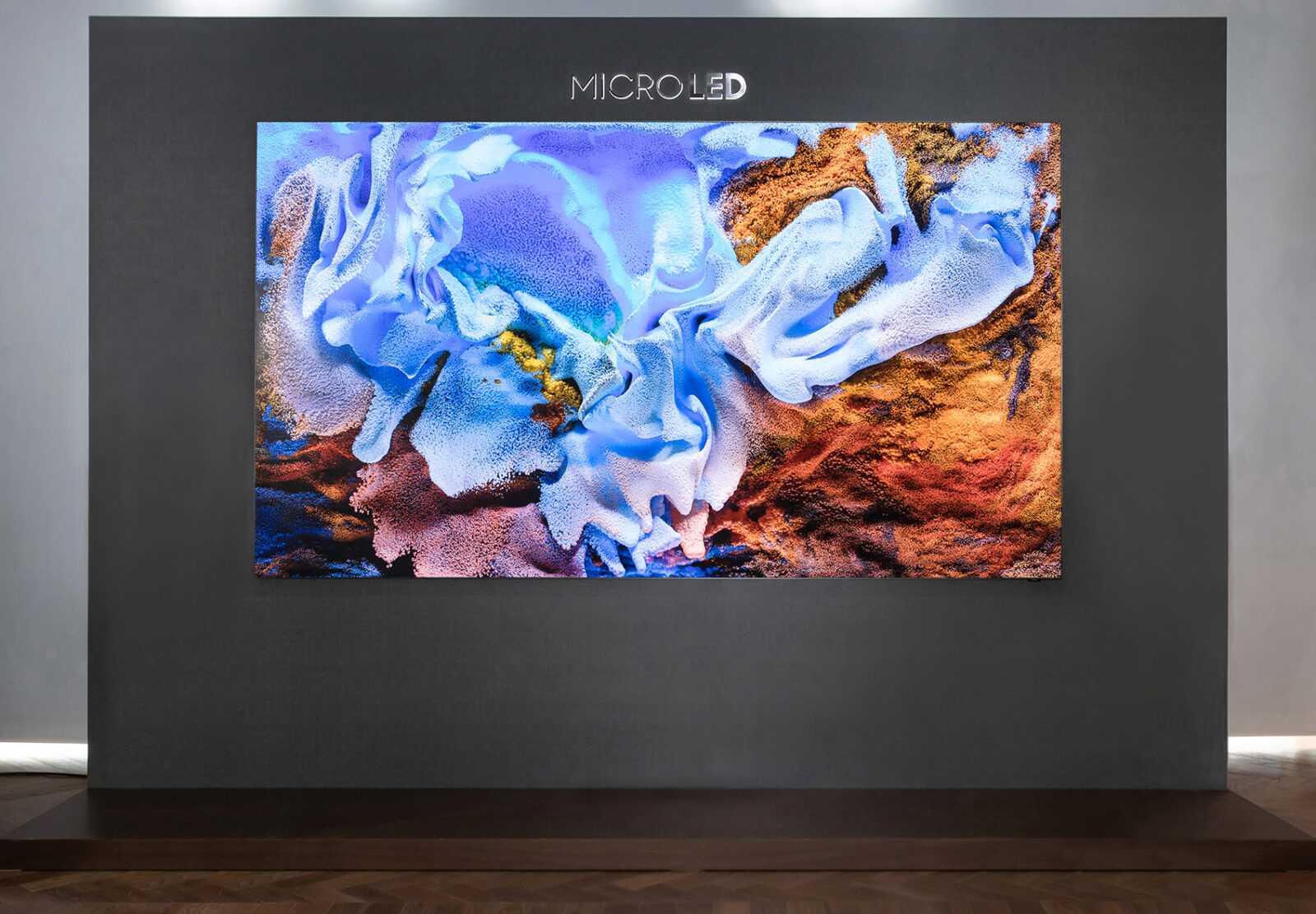 Компания Samsung представила новые телевизоры Neo QLED и Micro LED, и рассказала про технологии (samsung microled dl1 1)