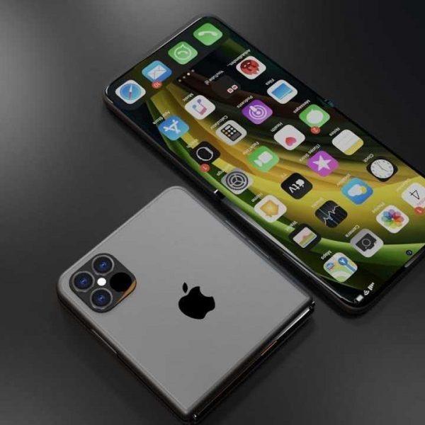 Apple придумала, как сделать гибкие экраны надёжнее (skladnoi iphone)