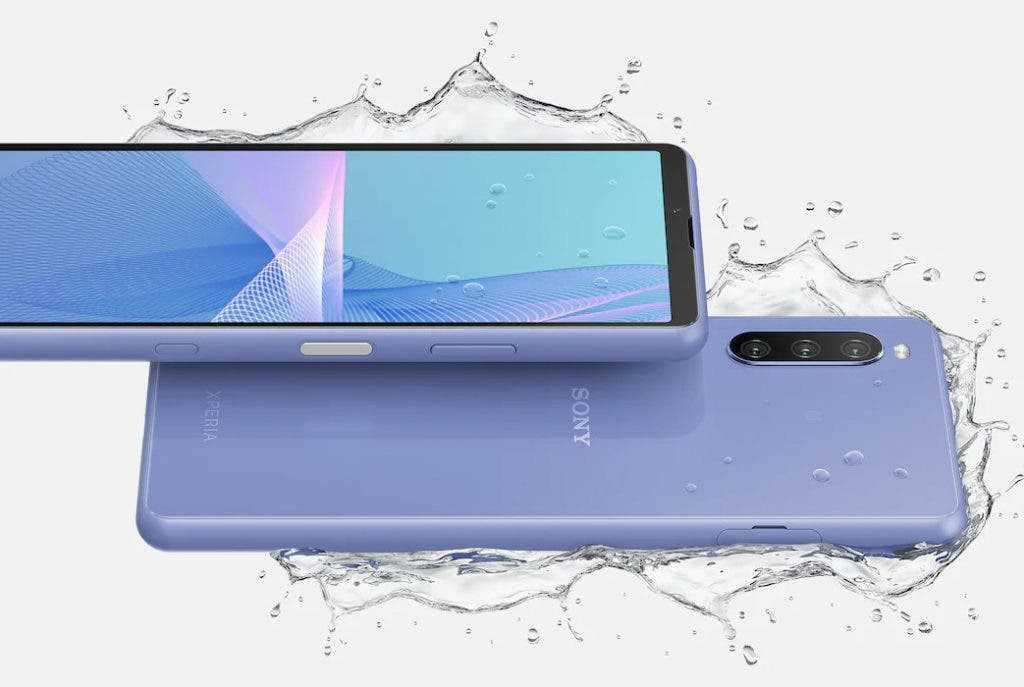 Sony представила новый смартфон Xperia 10 III (sony xperia 10 iii waterproof 1024x687 1)