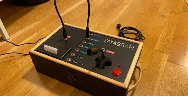 Внук победил интернет, построив своей бабушке текстовую машину Telegram (yayagram telegram machine)