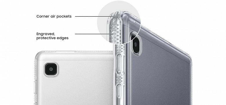 Samsung Galaxy Tab A7 Lite показали со всех сторон (3 1)