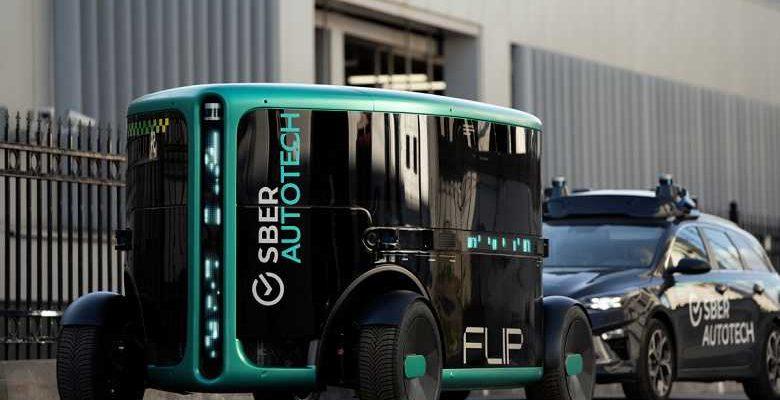 СберБанк показал прототип полностью беспилотного электромобиля (756220651667523 large 1)