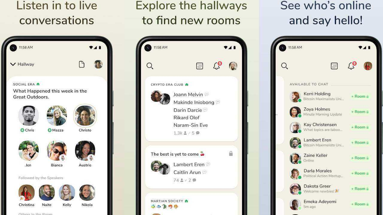 Clubhouse выпускает приложение для Android на весь мир (clubhouse android 1 1280x720 1)