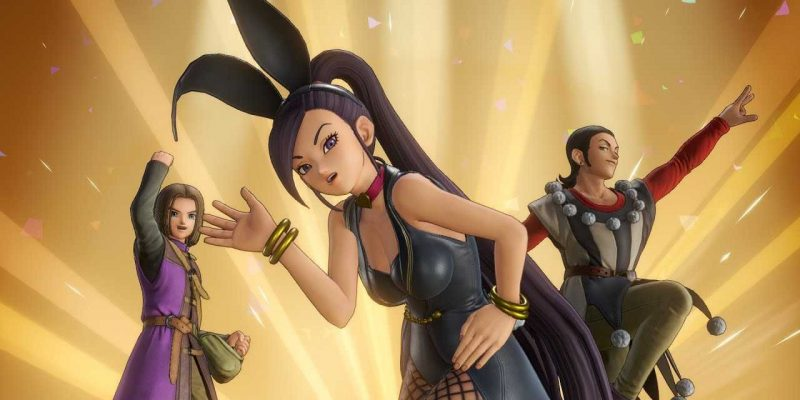 Square Enix анонсирует Dragon Quest XII: The Flames of Fate (dragon quest 11 bunny suit outfit costume jade)