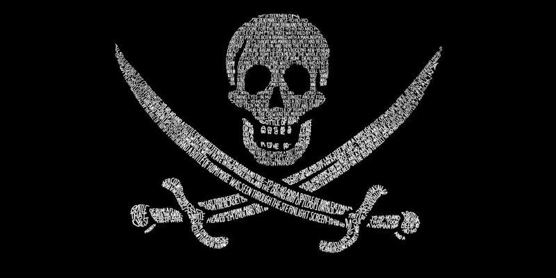 Жительница Испании проведёт в тюрьме 6 месяцев за использование пиратских копий Windows и Office (flag pirat chernyj texture tekstura piratskij flag iz slov)