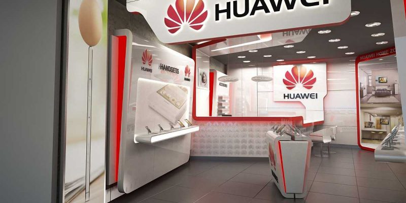 Huawei открывает новое бизнес-направление в России (huawei sign logo store large)