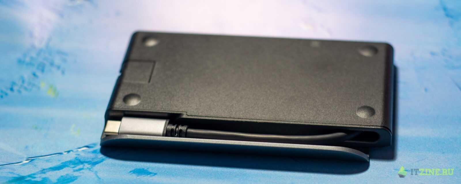 Провод USB-C в Moshi Symbus Mini