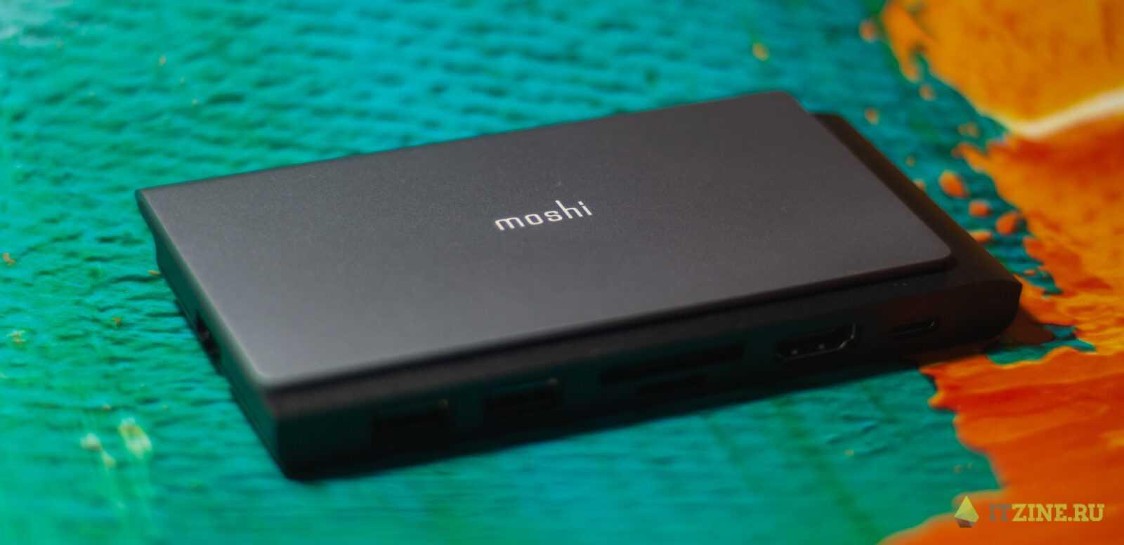 Обзор Moshi Symbus Mini: хаб для всех проводов и флешек (moshi symbus mini 08)