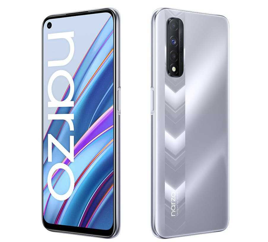 Realme представила смартфон Narzo 30 с большой батареей и экраном 90 Гц (realme narzo 30 1)