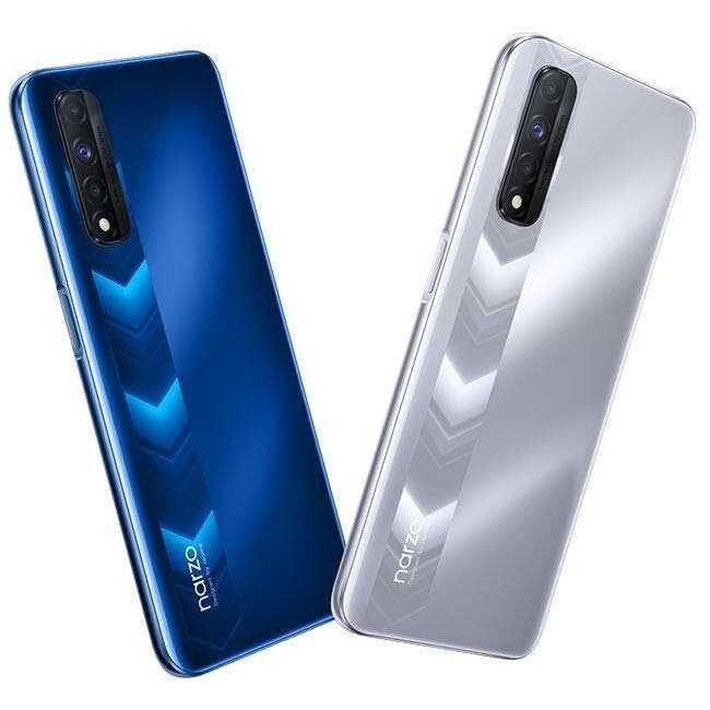 Realme представила смартфон Narzo 30 с большой батареей и экраном 90 Гц (relame narzo 30 3)