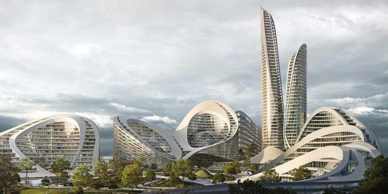 25 мая открывается международный онлайн-форум Smart Cities Moscow (rublyovo arkhangelskoye moscow smart city zaha hadid architects flying architecture dezeen 1704 hero a)